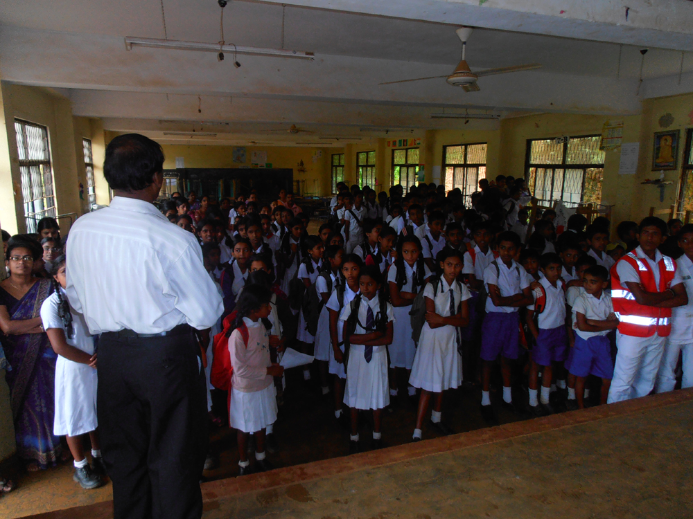 At Ampara School